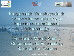 Introducción Programa - Portal de los 7 mares