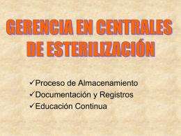 6 GERENCIA EN CENTRALES DE ESTERILIZACIÓN