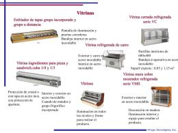 Vitrinas - Eurosigma