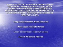Presentacion 3 - Escuela Politécnica Nacional
