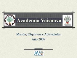 Presentacion AV oct 2007