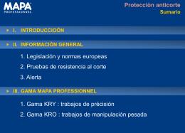 Gama Mapa Professionnel
