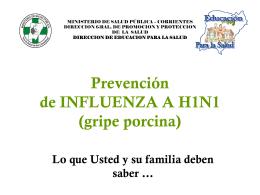 Prevención Influenza Comunidad V1