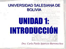 Presentación de PowerPoint - Universidad Salesiana de Bolivia
