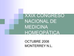homeopatia basada en evidencia ii - Instituto Superior de Medicina