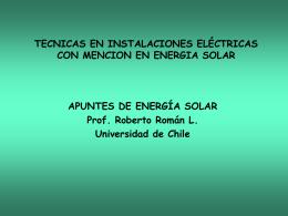 TECNICAS EN INSTALACIONES ELÉCTRICAS CON