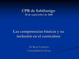 "CRP de Mérida ""Competencias básicas"""