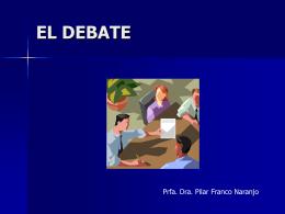 4 EL DEBATE - Plataforma colaborativa del CEP Marbella-Coín
