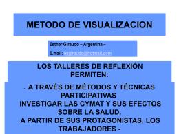 Presentación Visualizacion