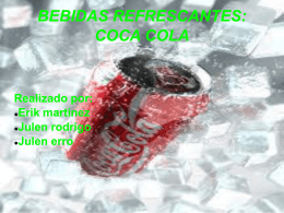 COCA COLA - WordPress.com