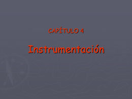 TERMO2005 CAP4 – Instrumentación