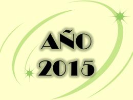 expectativa año 2015