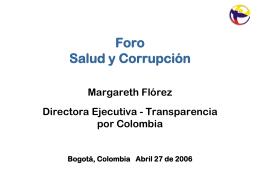 Ponencia de Transparencia por Colombia
