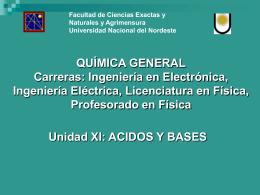 Unidad 11 - Facultad de Ciencias Exactas y Naturales y Agrimensura