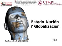 Estado Nación y Globalización Sinesio López