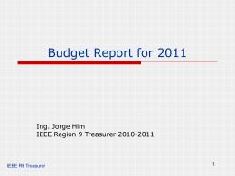 Presupuesto para 2011