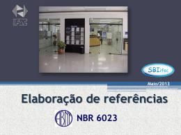 Aula Referencias Bibliograficas 2013