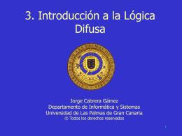 Presentación en PowerPoint del tema 9 (Lógica borrosa)