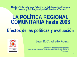 Tema 4 - Instituto de Estudios de la Integración Europea