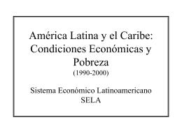 Economía y Pobreza en ALC