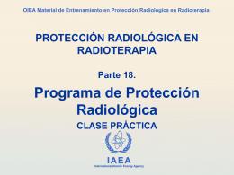 18. Organización e Implementación de un Programa de Protección