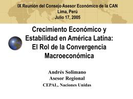 Desarrollo Latinoamericano