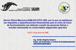 02_NOM-033-FITO-1995 - Seina SC Unidad de Verificación