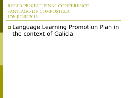 Foreign Language Learning Plan