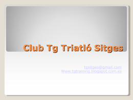 Tg Training Club