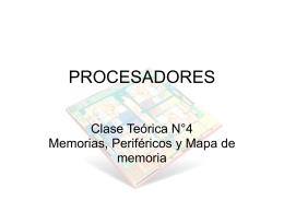 memoria - UIS Procesadores 2008