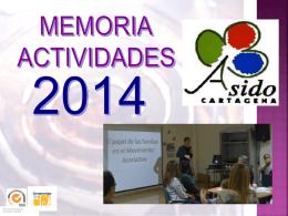 Borrador Memoria Actividades 2014