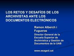 Ramón Alberch F.