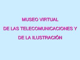 Museo Virtual de las Telecomunicaciones 2013