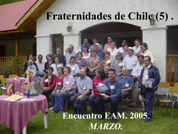 Fraternidades de Chile (Power Point