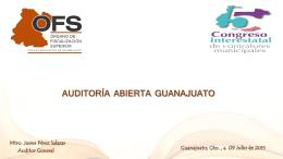 Auditoría Abierta - STRC - Alianza de Contralores Estado