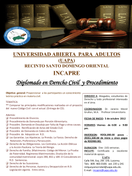 Diapositiva 1 - Universidad Abierta Para Adultos