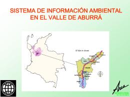 sistema de información ambiental en el valle de aburrá