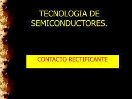 CONTACTO RECTIFICANTE