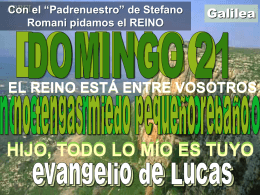 Lectura Domingo XXI - Calvariomarbella.com