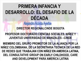 """un mundo justo para nosotros"""". - Sociedad Colombiana de Pediatría"""