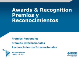 Awards & Recognition (Hugh Rudnick - R