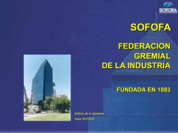 Presentación Servicios de Sofofa