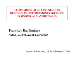 Evolución del consumo de energía primaria en Andalucía
