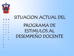Presentación PROESDE - Universidad de Guadalajara