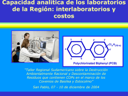 Capacidad analitica SP - Instituto Nacional de Tecnología Industrial