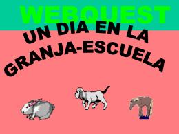 Una Webquest de Infantil - Aula Virtual del CEP de Castilleja de la