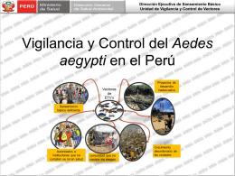 9 MF Situación Vigilancia y Control vectorial Peru 2013