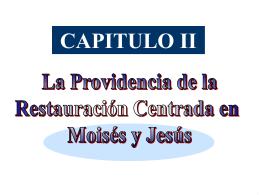 PDII2 prov Jesus y Moises