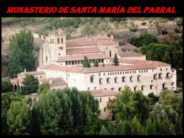 Monasterio El Parral