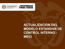 Presentación Actualizacion MECI